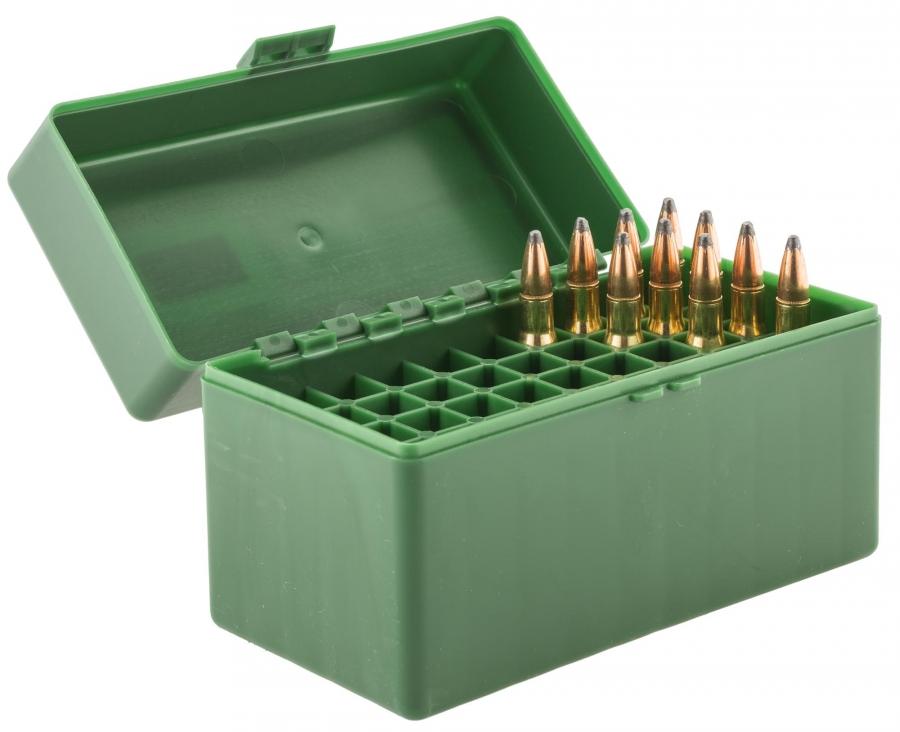 Boite à munitions MEGALINE cal.30-06 - 300 win Mag /50