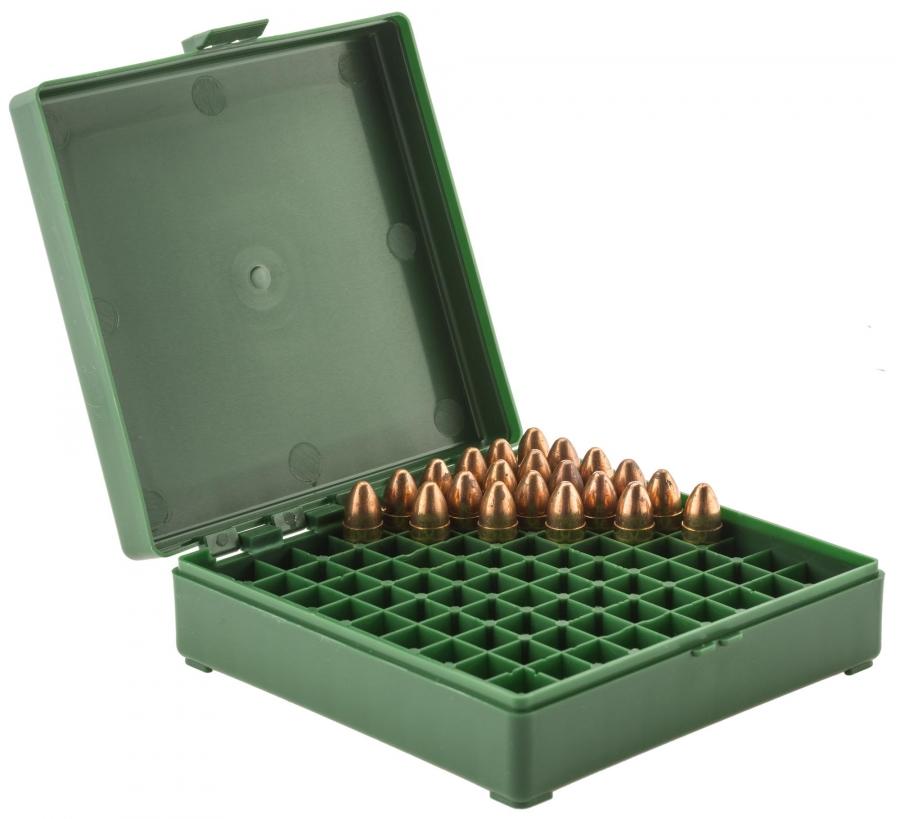 Boite à munitions MEGALINE cal.9x19 /100