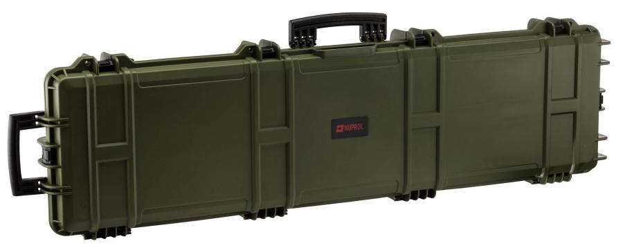 Mallette valise XL Waterproof OD Green NUPROL 137x39x15cm