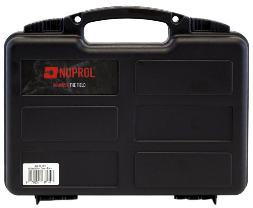 Mallette Noire pour armes de poing 31x25x8 cm NUPROL