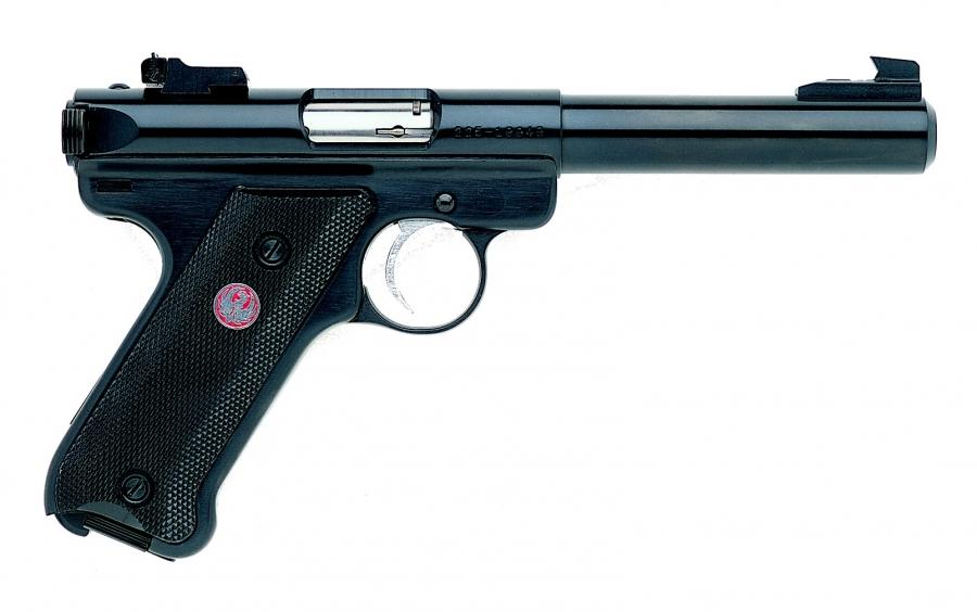 """Pistolet RUGER MARK IV Target Bronzé 5 1/2"""" calibre 22 Lr"""