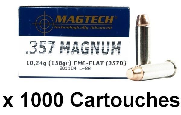 MAGTECH cal.357 Magnum FMJ /1000 cartouches