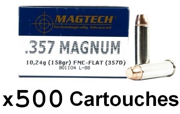 MAGTECH cal.357 Magnum FMJ /500 cartouches