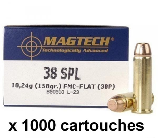 MAGTECH cal.38 Sp�cial FMJ /1000 cartouches