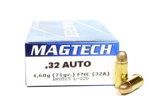 MAGTECH cal.7,65 mm (.32 Auto) FMJ