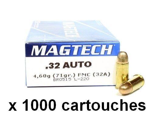 MAGTECH cal.7,65 mm (.32 Auto) FMJ /1000 cartouches