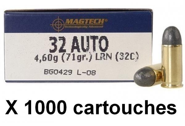 MAGTECH cal.7,65 mm (.32 Auto) LRN /1000