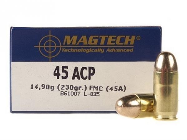 MAGTECH cal.45 ACP FMJ