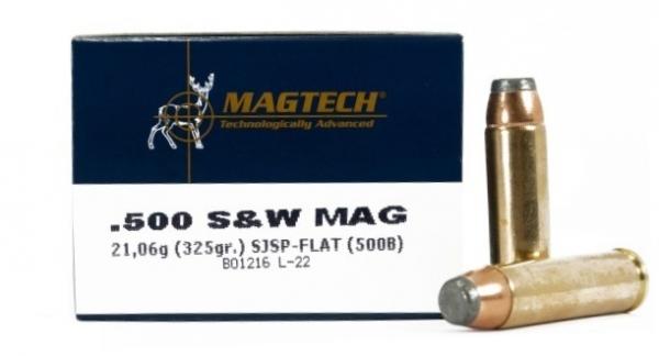 MAGTECH cal.500 SW Magnum SJSP FLAT