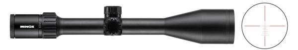 Lunette MINOX ZX5I 5-25x56 réticule lumineux BDC