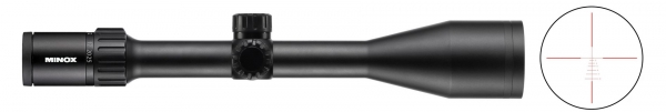 Lunette MINOX ZX5I 5-25x56 r�ticule lumineux BDC