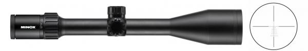 Lunette MINOX ZX5 3-15x56 r�ticule 4