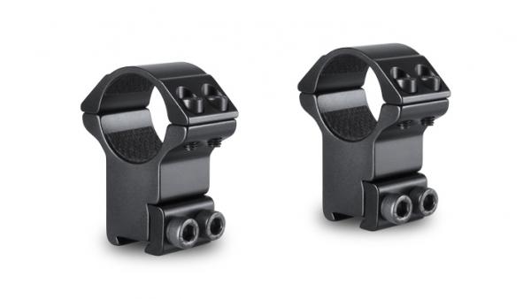 Montage HAWKE Haut diam�tre 25,4 mm - Rail de 11 mm (BH20mm)