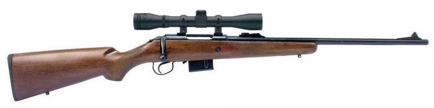 Carabine NORINCO JW105 Bois cal.222 Rem avec lunette BAUER 3-9x40