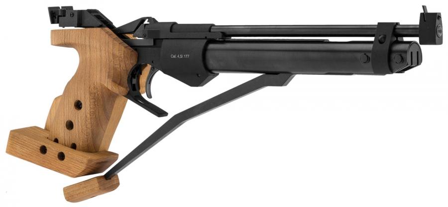 Pistolet de compétition BAIKAL IZH 46M cal.4,5mm Droitier