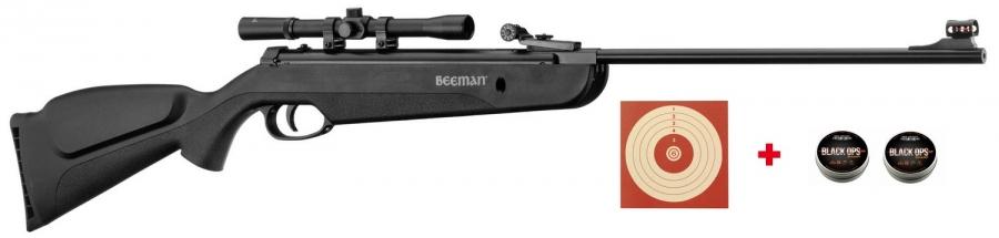 "Carabine à plombs BEEMAN QB22 Cal.4,5 mm ""Pack loisir"""