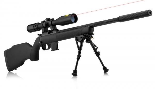 """Carabine 22LR WEBLEY SCOTT Carbon """"Pack SNIPER LASER"""""""