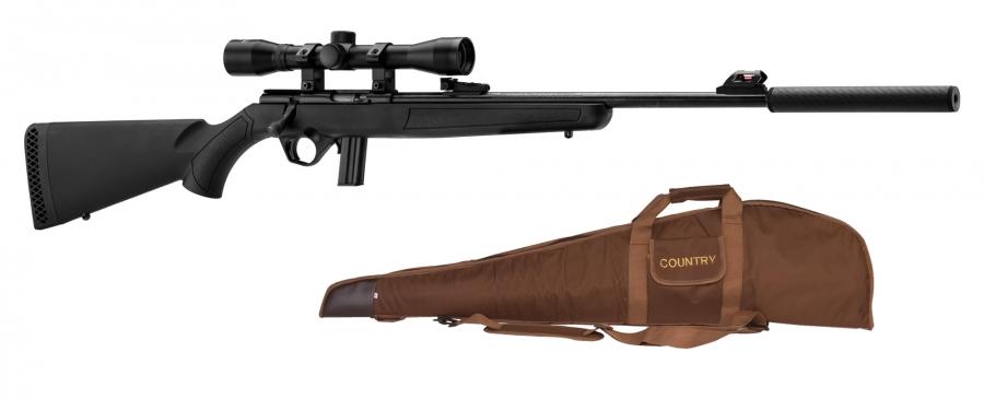Carabine 22LR MOSSBERG Plinkster 802 synthetique ''Pack''