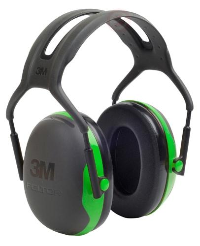 Casque Anti-Bruit PELTOR X1 Vert