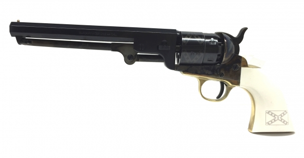 Revolver � Poudre Noire Pietta COLT 1851 NAVY YANK  ''Old Silver General LEE'' Cal.44