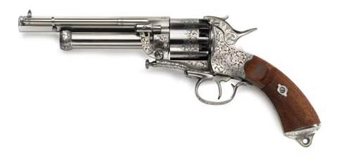 Revolver � Poudre Noire Pietta LE MAT Army super luxe Cal.44