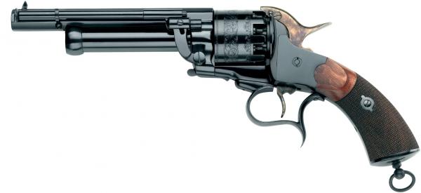 Revolver à Poudre Noire Pietta LE MAT modèle Cavalerie Cal.44