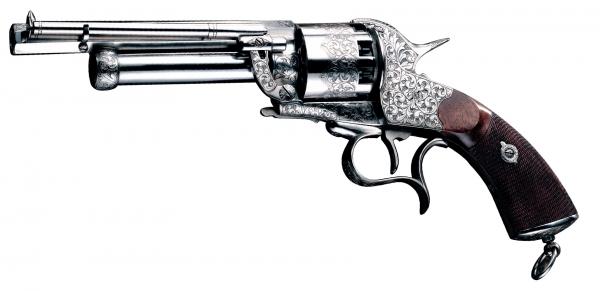 Revolver � Poudre Noire Pietta LE MAT Cavalry super luxe Cal.44