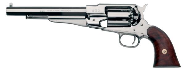 Revolver � Poudre Noire Pietta REMINGTON 1858 Texas Nickel� cal.44