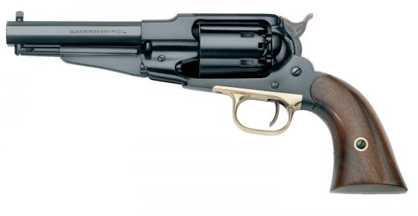 "Revolver à Poudre Noire Pietta REMINGTON 1858 New Army Acier Sheriff ""RGASH44"" cal.44"