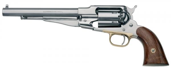 """Revolver à Poudre Noire Pietta REMINGTON 1858 Army Inox """"RGS44"""" cal.44"""