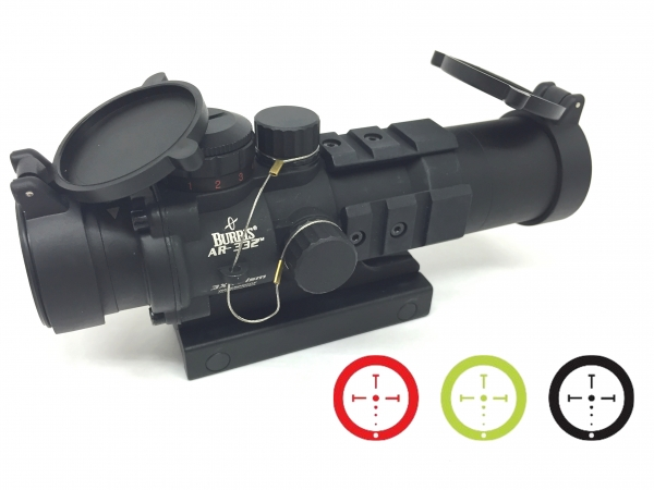 Point rouge tactical BURRIS AR-332 Ballictic CQ