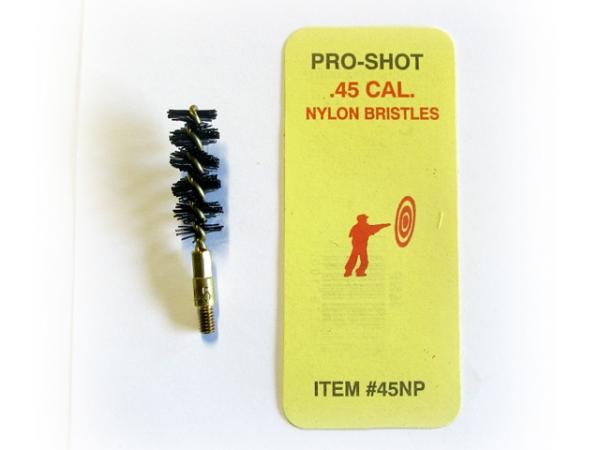 Ecouvillon en nylon PRO-SHOT pour pistolet cal.45 ACP