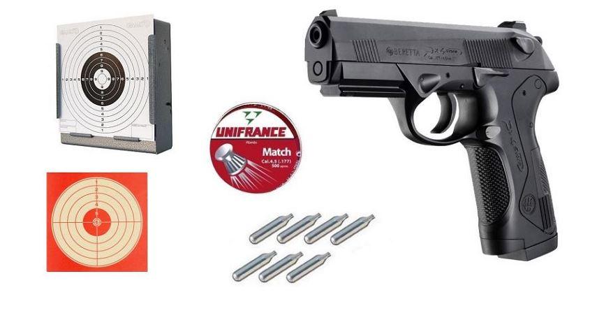 Pistolet BERETTA Px4 Storm ''Pack'' UMAREX Cal 4.5mm