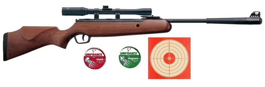 Carabine STOEGER X5 COMBO Bois ''lunette LYNX 4x20'' Pack loisir
