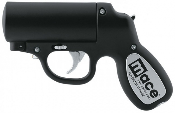 Pistolet lacrymog�ne MACE Pepper Gun Noir