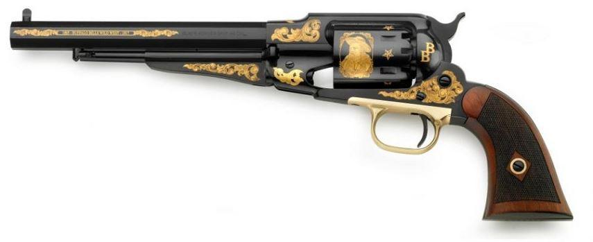 Revolver � Poudre Noire Pietta REMINGTON 1858 ''Buffalo Bill COMMEMO'' cal.44