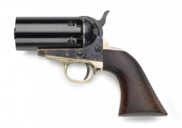 Revolver à Poudre Noire Pietta COLT Navy Yank 1851 Pepperbox cal.36