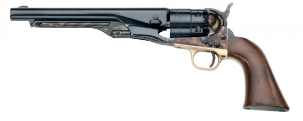 """Revolver à Poudre Noire Pietta COLT Army Jaspé 1860 """"CAS44"""" cal.44"""