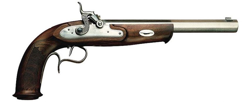 Pistolet ARDESA WILLIAM PARKER MATCH cal.45