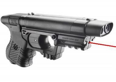 Pistolet JPX 1 Jet Protector Noir ''LASER''intégré