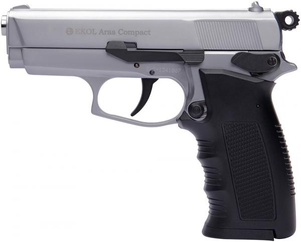 Pistolet EKOL Aras Compact mod.85 Chrom� Cal.9mm PA
