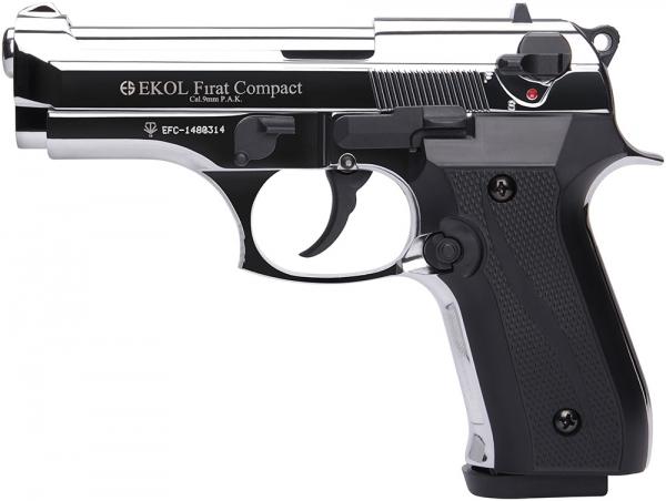Pistolet EKOL Firat Compact mod.92 Auto Chrom� Cal.9mm PA