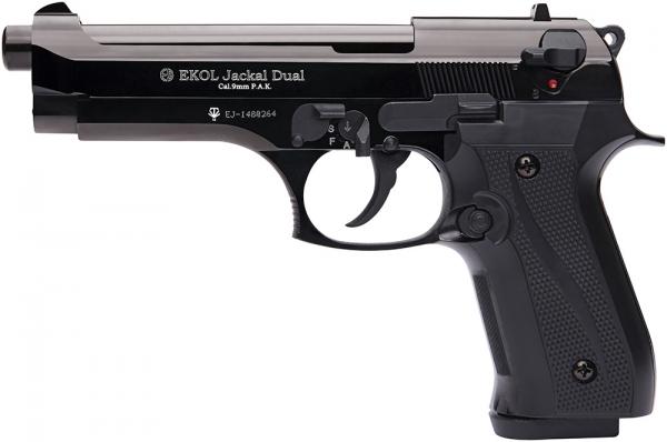 Pistolet EKOL Jackal Dual mod.92 Auto Bronz� Cal.9mm PA (Full Automatique)