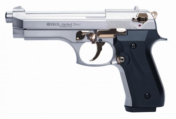Pistolet EKOL Jackal Dual mod.92 Auto Dor� Cal.9mm PA (Full Automatique)