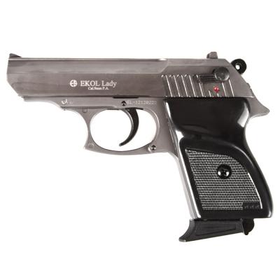 Pistolet EKOL LADY Bronz� Auto Chrom� Cal.9mm PA