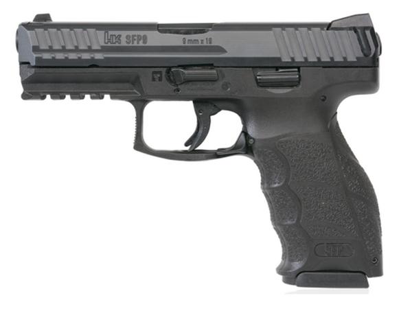 Pistolet HK SFP9-SF Noir cal.9x19