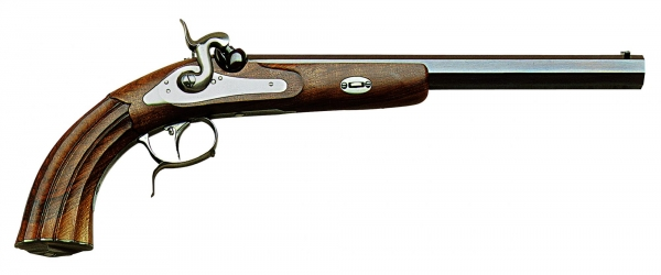 Pistolet � poudre noire PEDERSOLI MANG IN GRAZ standard cal.44