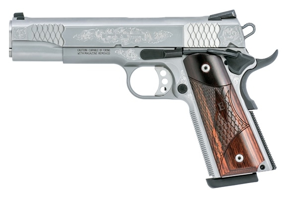 Pistolet SMITH & WESSON SW1911 Engraved cal.45 ACP