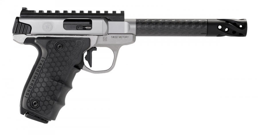 Pistolet SMITH & WESSON Performance Center SW22 Victory Carbone cal.22Lr
