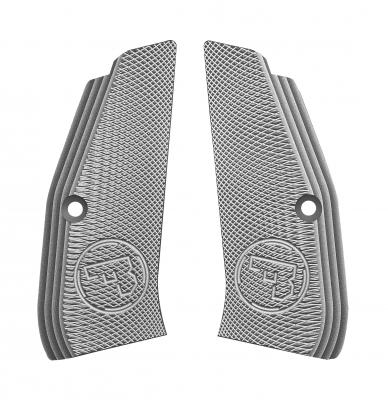 Plaquettes aluminium CZ 75 Shadow SP01 (Grise)